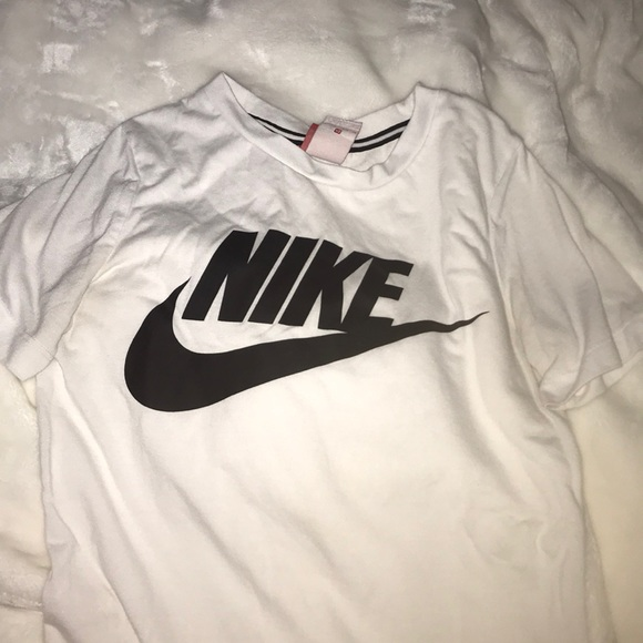 Nike Tops Plain White Shirt Poshmark